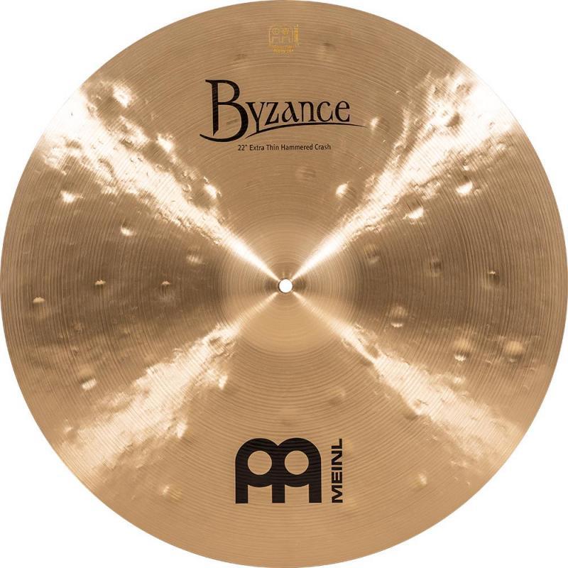 Meinl Byzance Extra Thin Hammered Crash - B22ETHC Tradition