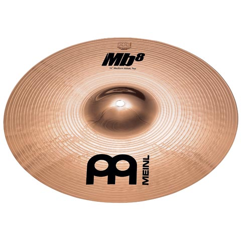 "14"" MB8 Medium Hi-hat, Meinl"