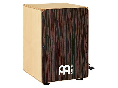 Bass Cajon w/Snare Pedal, Ebony front
