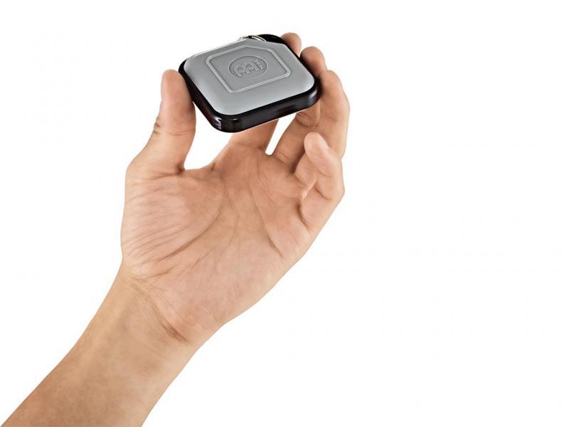 KRS-GR. Meinl Percussion Key Ring Shaker, Grey