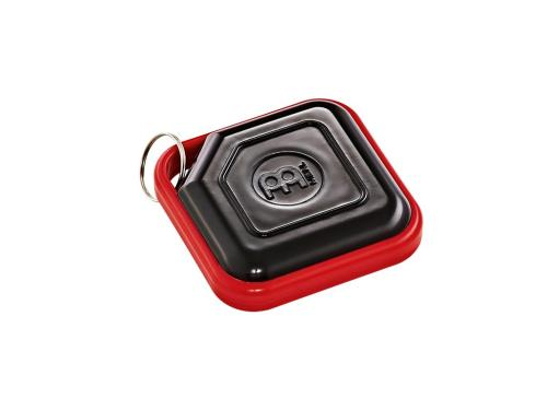 KRS-BK. Meinl Percussion Key Ring Shaker, Black