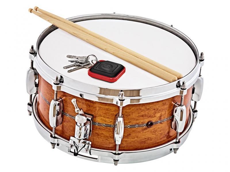 KRS-BK. Meinl Percussion Key Ring Shaker, Black