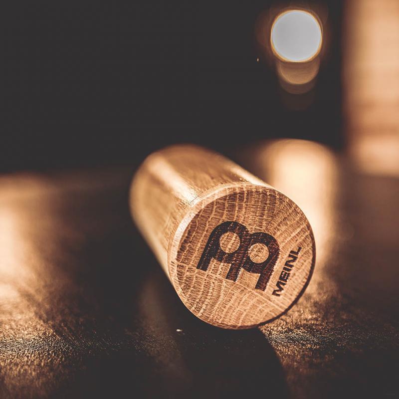 SH59. Wood Shaker Round, Oak wood, Loud