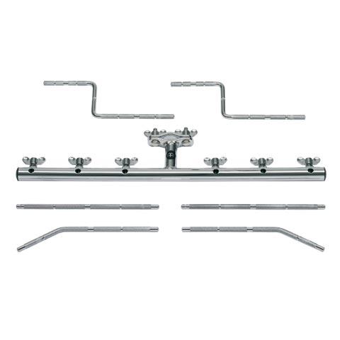 Percussionhållare med 6-rods