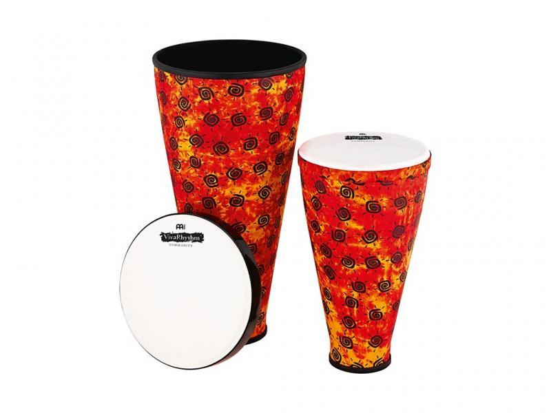 VR-SDSET-SH.  Viva Rhythm Stack Drum Set, Sunshine