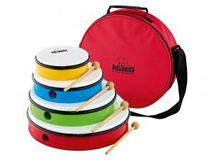 Handtrumma 4-pack med väska - NINOSET6