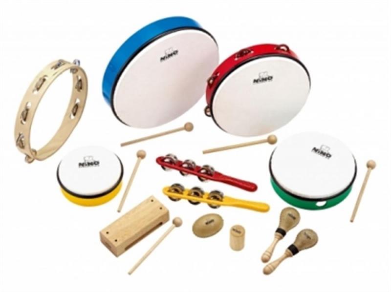 NINO Percussion Percussion sortiment, 12 st., NINOSET012