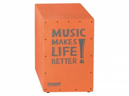 Cajon 17'' Laxrosa/orange