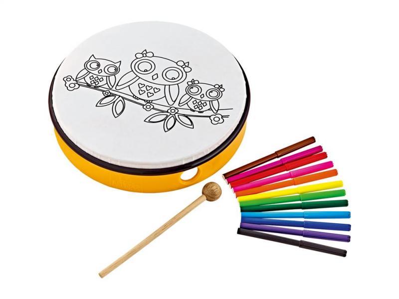 "Handtrumma 10"", kreativt paket"