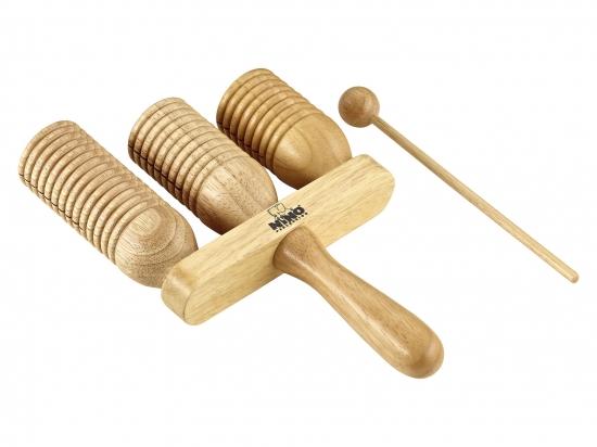 Wood-a-go-go, 3-delad