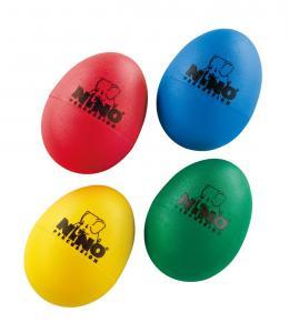 Ägg-set (4 st) Green, yellow, red, blue