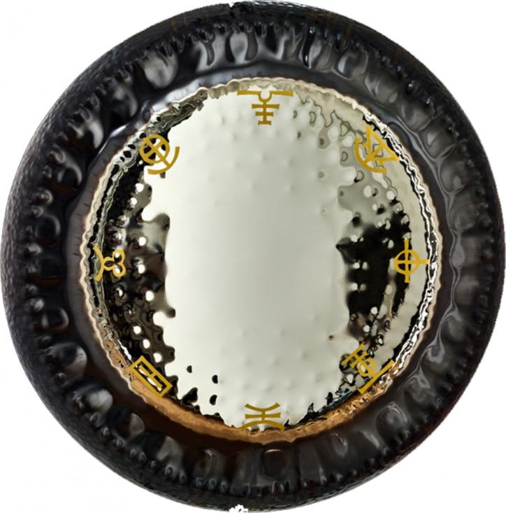 "32 Don Conreaux Eight Corners of Heaven Mirror Gong"""