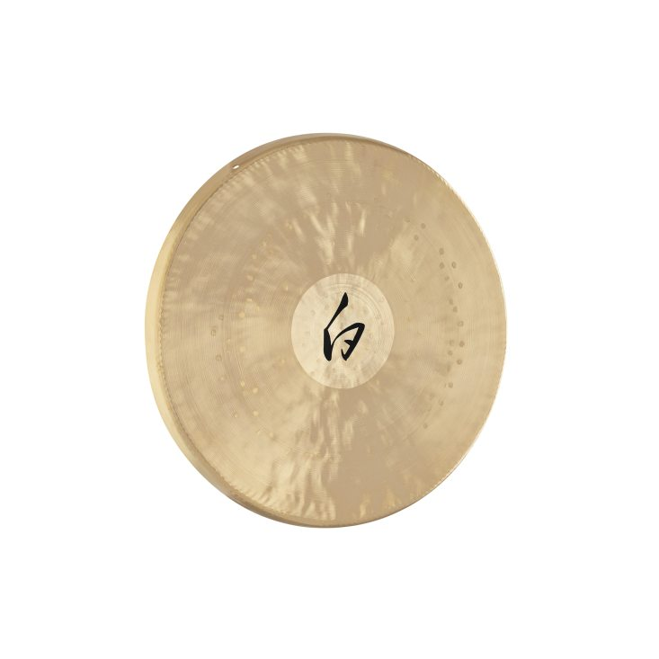 12'' White Gong, incl. Beater