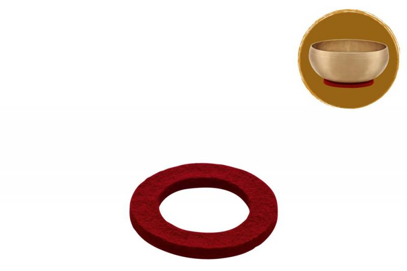 Singing Bowl Felt Ring, Ø 8 cm