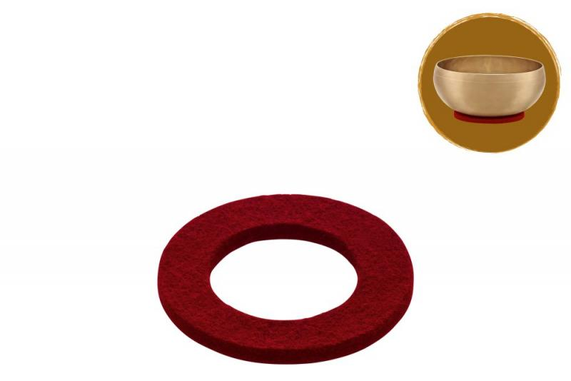Singing Bowl Felt Ring, Ø 10 cm