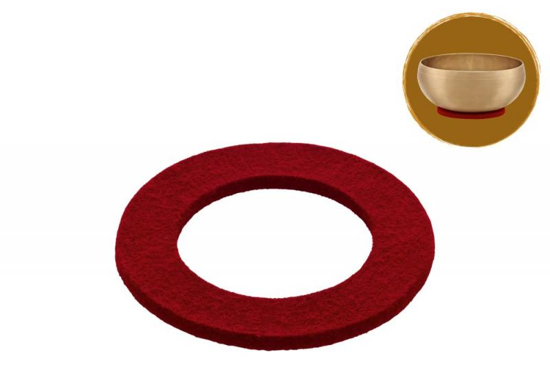 Singing Bowl Felt Ring, Ø 13 cm