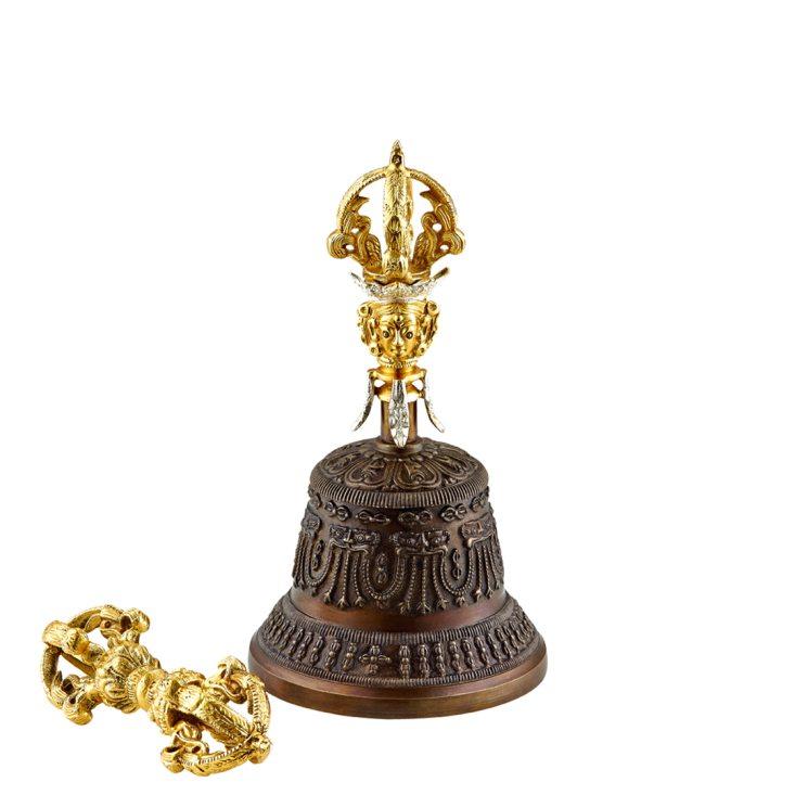 Bell & Dorje, Special (with single dorje), 9 cm, 405 g