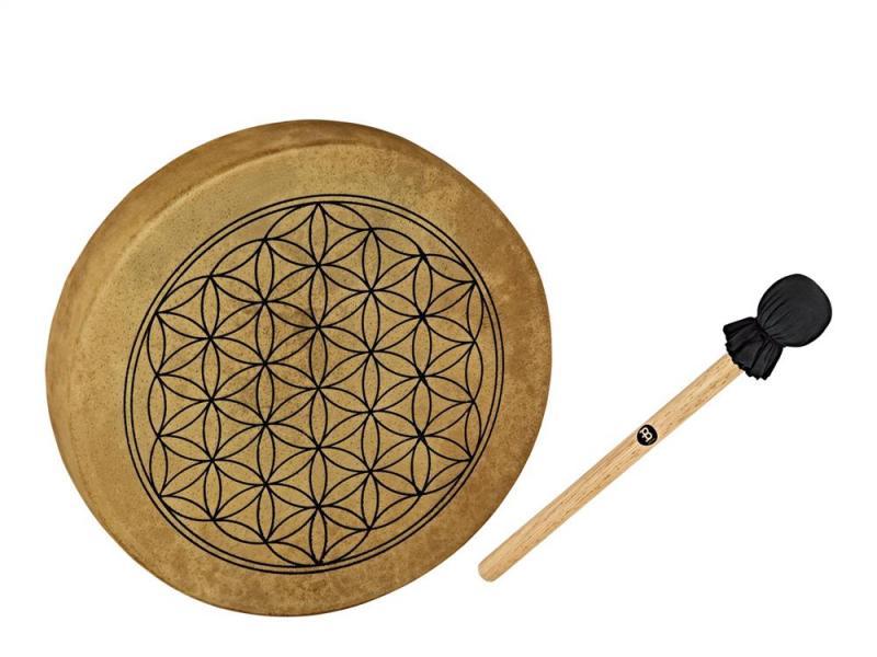 Meinl Percussion Hoop Drum 15'' Flower Of Life, HOD15-FOL