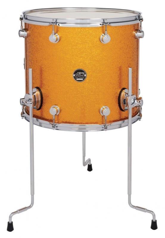 Drum Workshop Floor Tom Performance Gold Sparkle