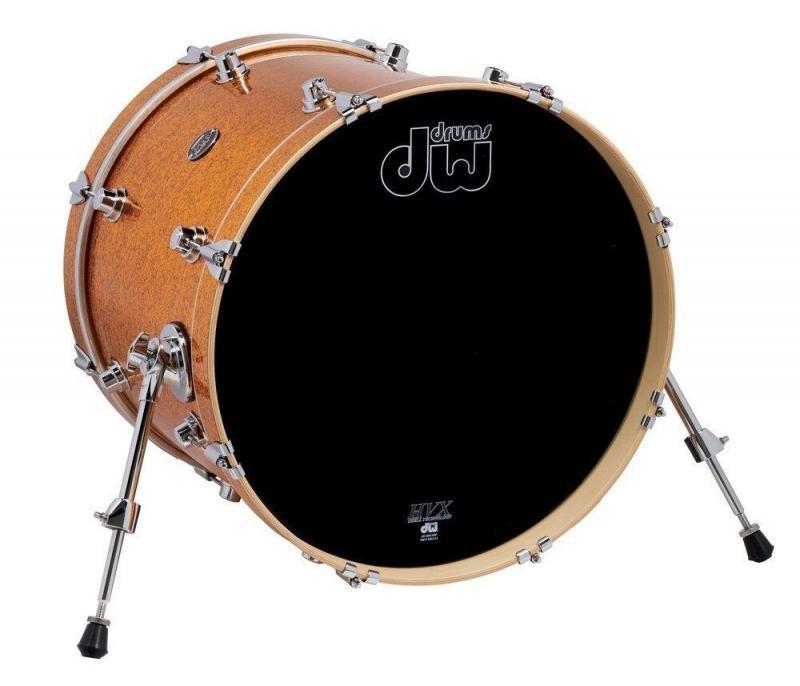 Drum Workshop Bass Drum Performance Gold Sparkle