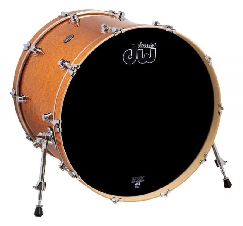 DW Bass Drum Performance Gold Sparkle