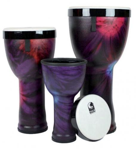 Nesting Drums Freestyle II 3 pcs Set, Toca TF2ND-3PCWP