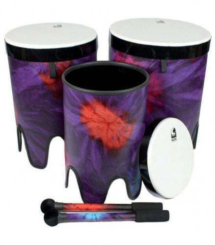 "Nesting Drums Tom Tom  Freestyle II Set of 3 pcs (12""/14""/16""), Toca TF2NT-3PCWP"