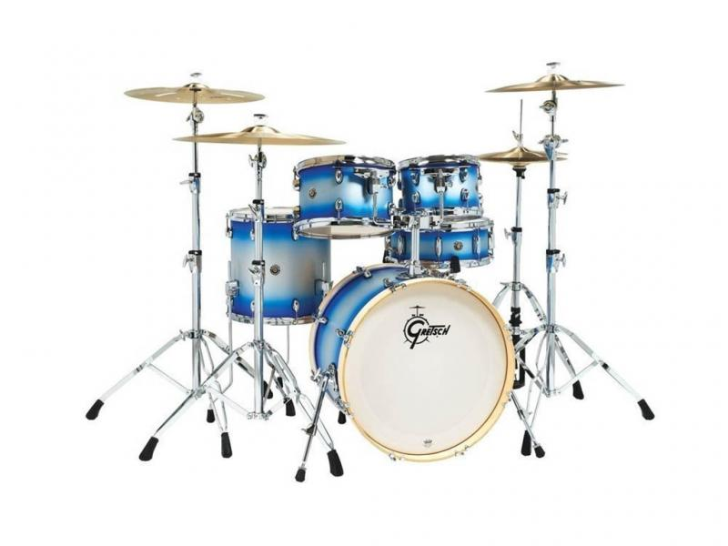 Gretsch shell set Catalina Birch Limited, Blue Silver Duco
