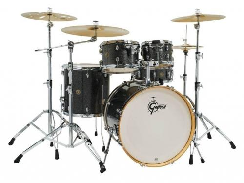 Gretsch shell set Catalina Maple, Black Stardust