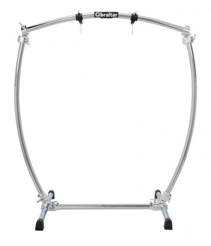 Gibraltar Special stands Chrome Series Curved Gong Stand GCSCG-L