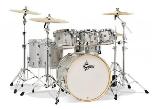 Gretsch shell set Catalina Maple, Silver Sparkle