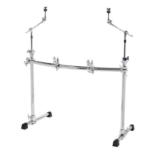 Gibraltar Rack System Chrome Series Curved Basic Rack GCS302C