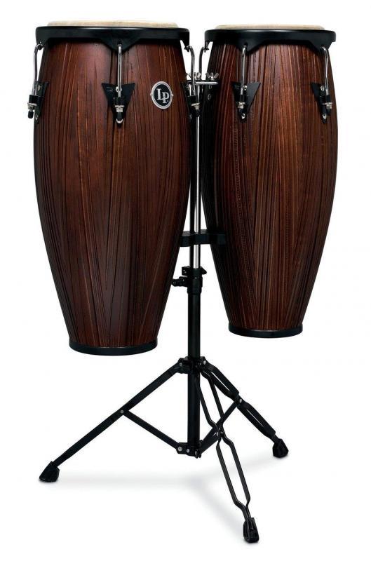 Latin Percussion Conga set City Series 10'' & 11'', LP646NY-CMW