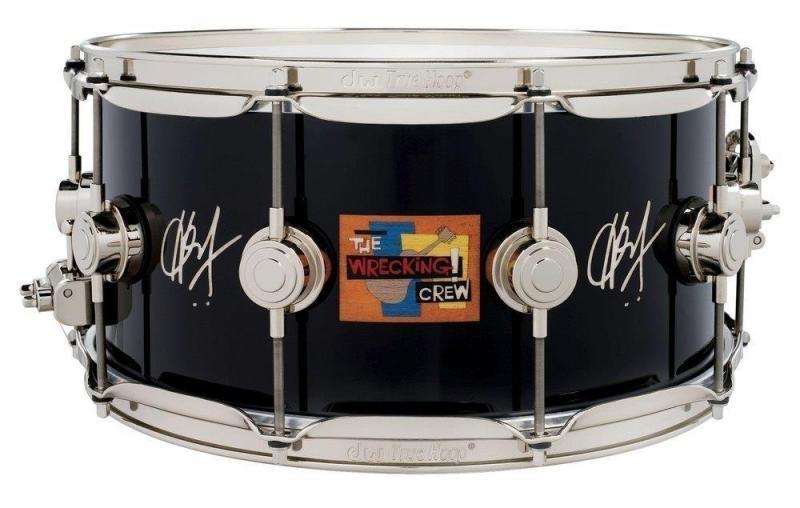 Drum Workshop Icon Snare Hal Blaine ''The Wrecking Crew'' 14x6.5''