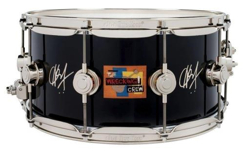 Drum Workshop Icon Snare Hal Blaine ''The Wrecking Crew'' 14x6.5''