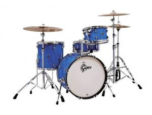 Gretsch shell set Catalina Club, Blue Satin Flame
