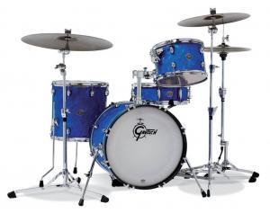 Gretsch shell set Catalina Club, Blue Satin Flame