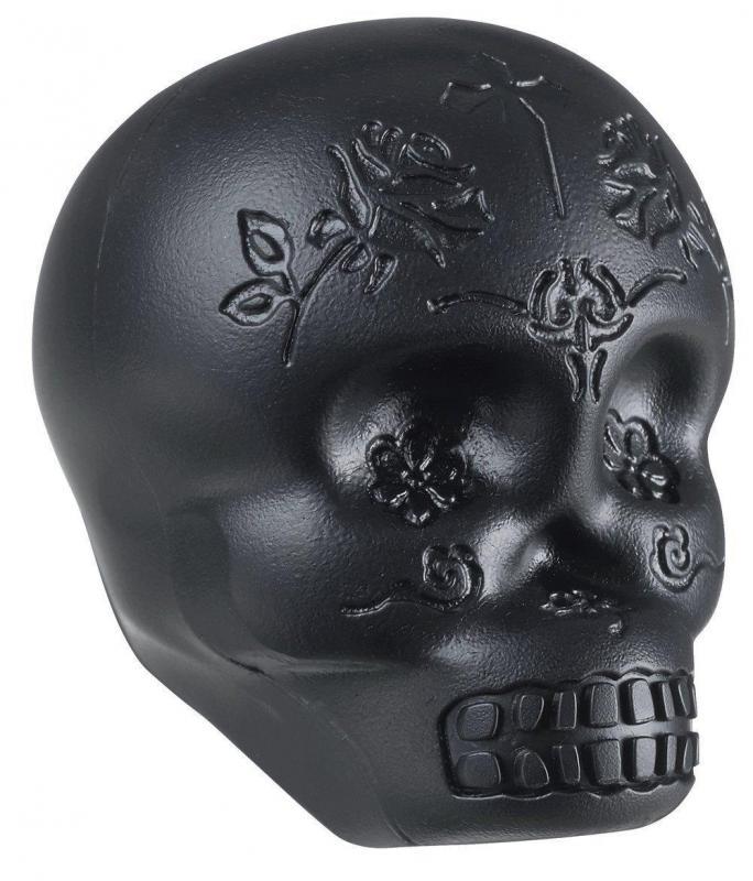 Latin Percussion Shaker Sugar Skull Black, LP006-BK