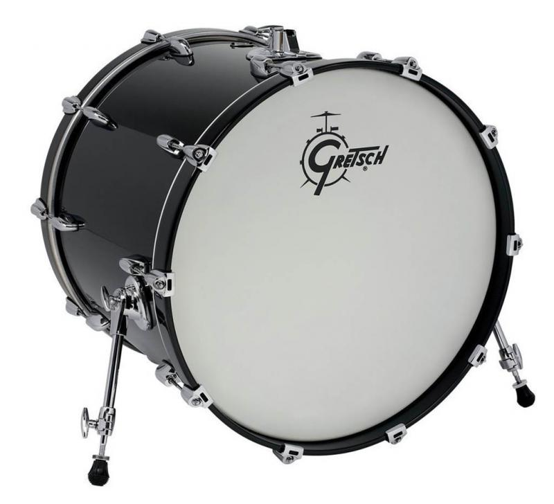 Gretsch Bass Drum Renown Maple, Turquoise Premium Sparkle