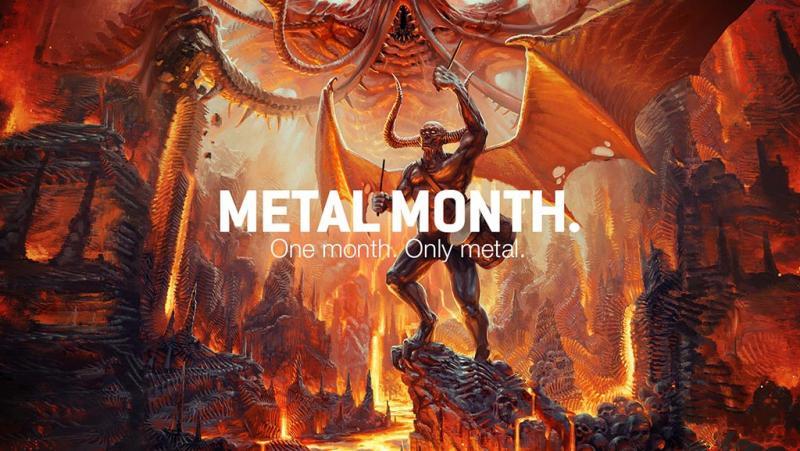 Metal Month hos Toontrack