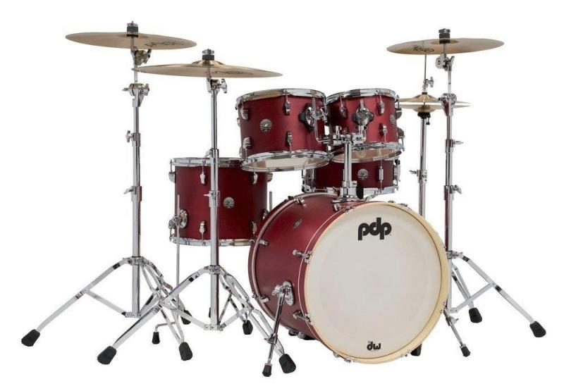 PDP by DW Shell set Spectrum Series Ebony Stain