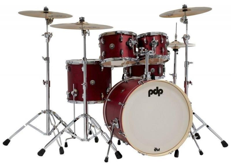 PDP by DW Shell set Spectrum Series Cherry Stain