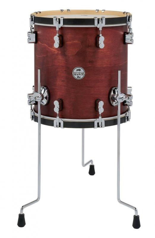 PDP by DW Floor Tom Concept Classic Ox Blood Stain