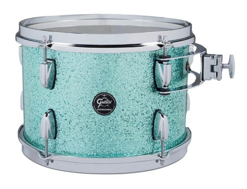 Gretsch Tom Tom Renown Maple, Turquoise Premium Sparkle