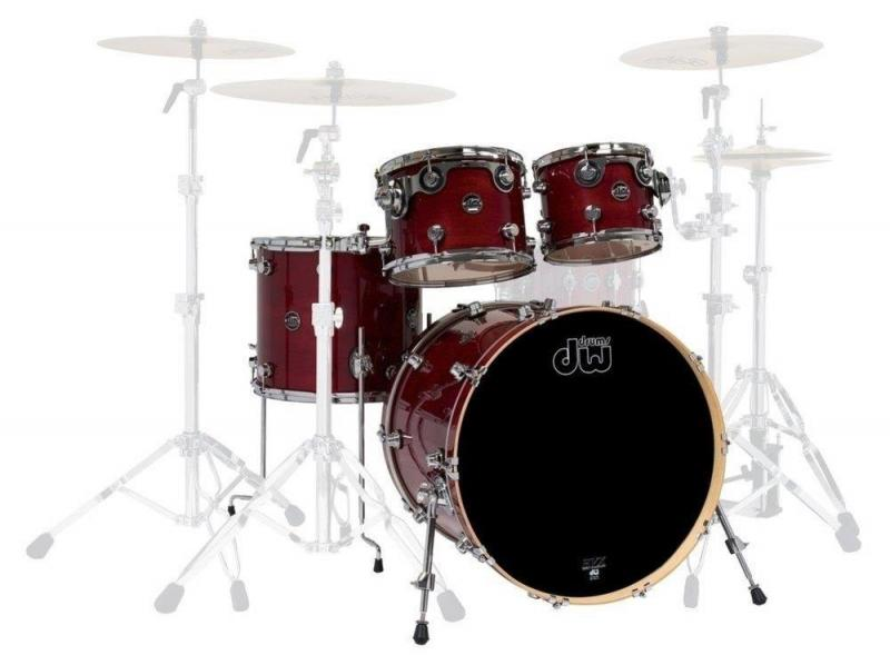 Drum Workshop Shell set Performance Lacquer Cherry Stain