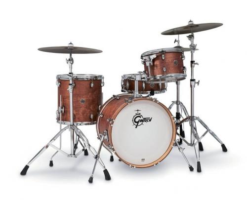 Gretsch shell set Catalina Club, Satin Walnut Glaze