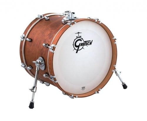 Gretsch Bass Drum Catalina Club, Satin Walnut Glaze