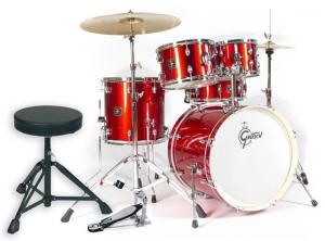 Gretsch Drum set Energy, Red