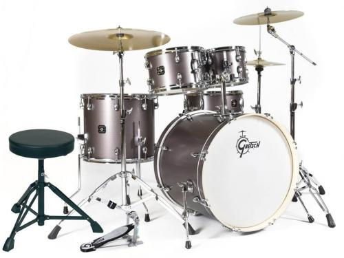 Gretsch Drum set Energy, Grey Steel