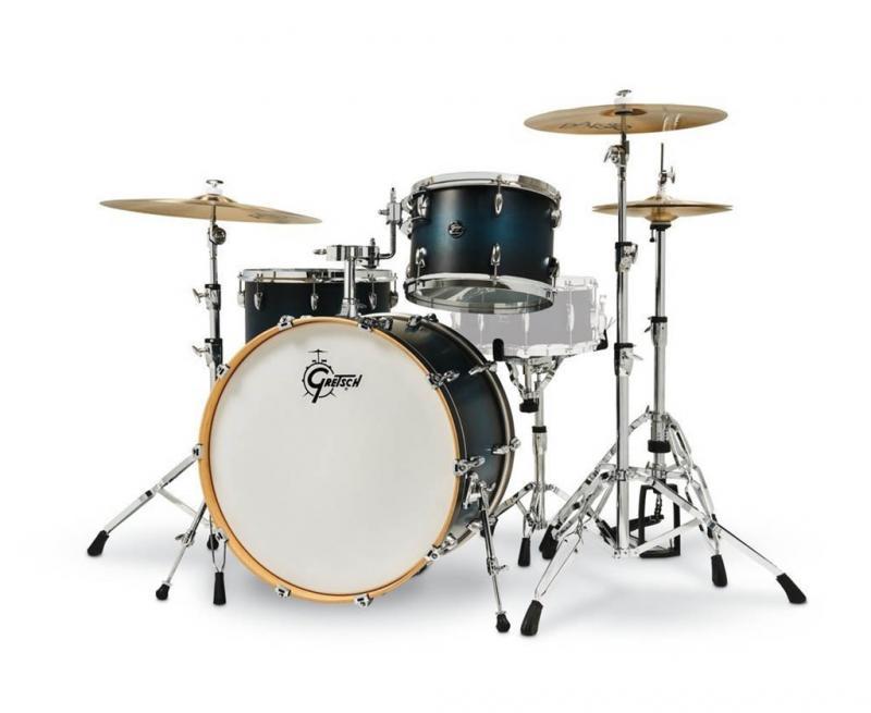 Gretsch shell set Renown Maple, Turquoise Premium Sparkle